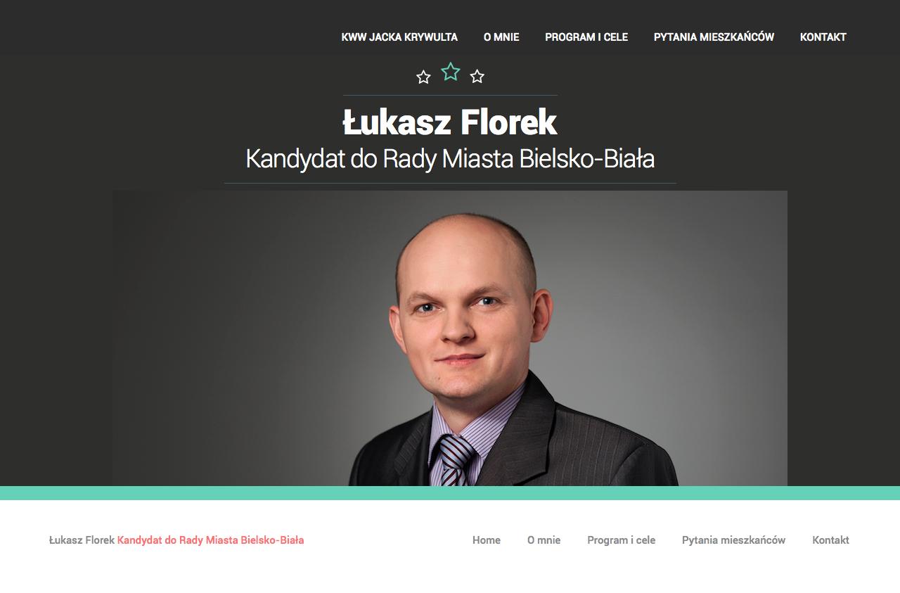 Łukasz Florek - Kandydat do Rady Miasta Bielsko-Biała | KWW Jacka Krywulta - Okręg Nr 2 | Pozycja 9 2014-10-13 19-11-08