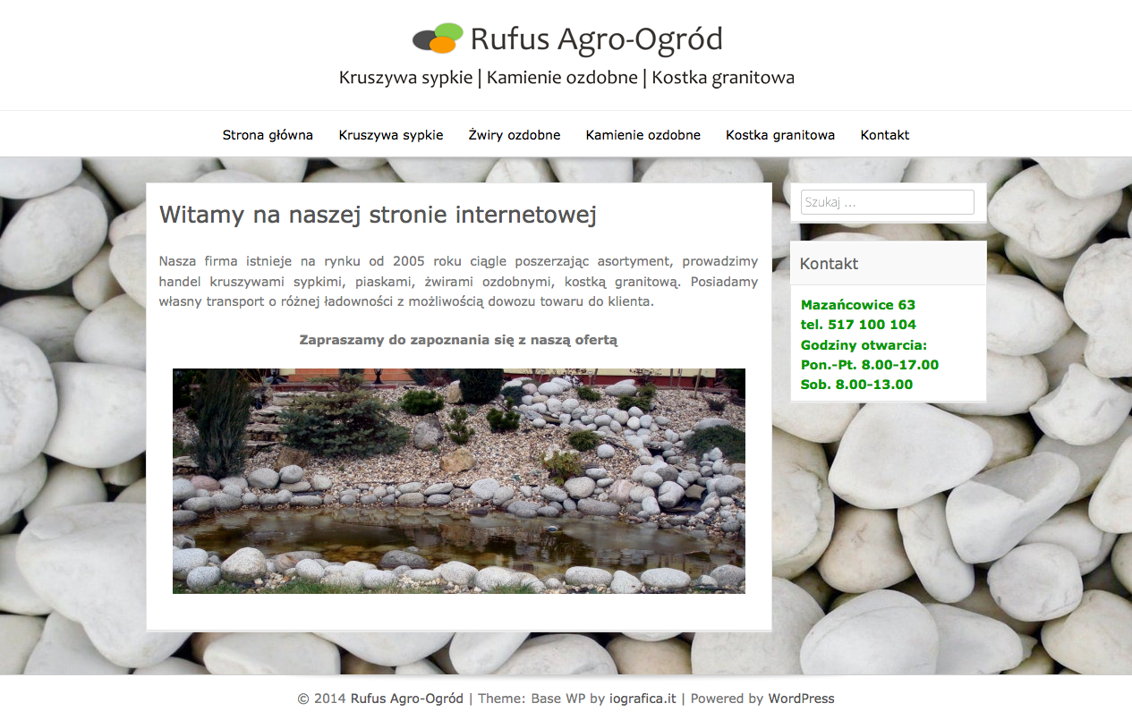 Rufus Agro-Ogród | Kruszywa sypkie | Kamienie ozdobne | Kostka granitowa 2014-03-24 10-49-52