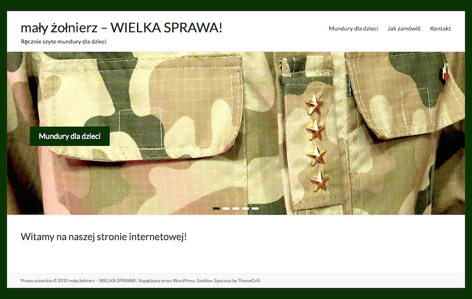 mały żołnierz – WIELKA SPRAWA! | Ręcznie szyte mundury dla dzieci 2015-02-27 10-09-12